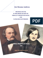 The Role of Evil in the Short Fiction of Nikolai Vasilievich Gogol and Nathaniel Hawthorne-Roxana Croito