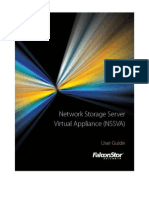 NSS Virtual Appliance User Guide