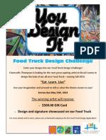 Food Truck Contest Flyer