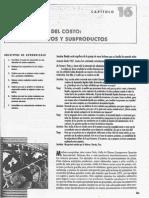 Capítulo 16 - Contabilidad de Costos - De Horngren