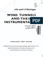 Livro de Instrumentação Em Túnel de Vento