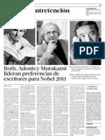 Roth Adonis y Murakami