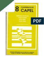 1995  Partidos Políticos y Elecciones en el Perú (1978-1993)
