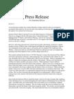 Seymour Press Release