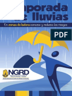 En Zonas de Ladera Conozco y Reduzco Los Riesgos Inundaciones