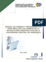 Manual de NYP Cambio de EST ORG Abr2009