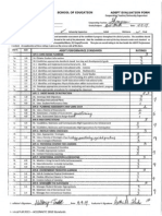 University Supervisor Evaluation #3