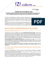 Lancement de IZI-Collecte.com