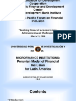 Microfinance Institutions
