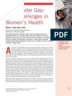 The Gender Gap New Challenges in Women Health