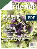 Ontario Gardener Magazine article on deer repellents