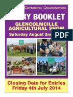 Glen Show 2014 Entry Booklet