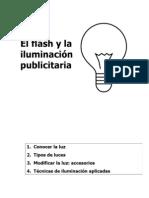 El flash y la iluminación publicitaria