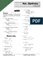 Álgebra ELITE Repaso y Regularizacion 1.2