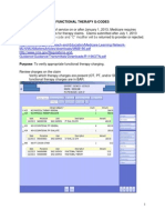 functional therapy reporting