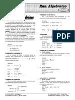 Álgebra ELITE Repaso y Regularizacion EXPRESIONES ALGEBRAICAS 2.1