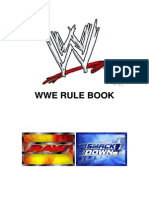 WWE Rule Book