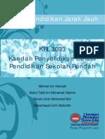 20140310100355Modul KRL 3033 Kaedah Penyelidikan Dalam Pendidikan