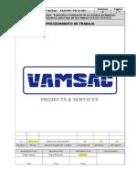 Procedimiento de Trabajo de La Instalacion Configuracion y Puesta en Servicio de Un Medidor Ultrasonico
