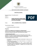Protocolo Epidemiologia y Demografia Unidad 3