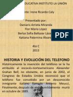Historia y Evolución Del Telefono