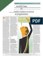 Los Rebeldes Latinos Recurren Al Pragmatismo_El Comercio 25-04-2014