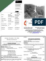 11 8 2009 Web Bulletin