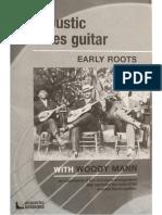 Woody Mann Art of Acoustic Blues Guitar