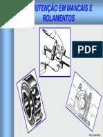 Manutenção Em Mancais e Rolamentos POWER POINT