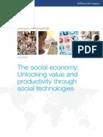 MGI the Social Economy Executive Summary