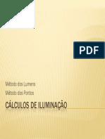 Calculos Iluminacao Metodos Lumens e Pontos