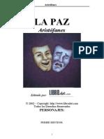 Aristófanes - La Paz
