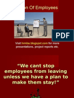 Retention of Employee -Ppt