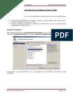 Clase 3 Instalar Active Directory en Windows Server 2008