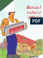 Manual tehnic in sistem Amvic v3