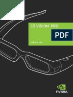 3dvision Pro User Guide