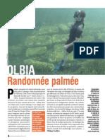 Randonée palmée Olbia 2014 ©Parc national de Port-Cros
