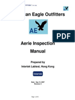 Aerie Inspection Manual
