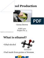 How Ethanol is Made