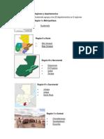 Regiones y Departamentos