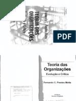 Teoria Das Organizações- Evolução e Crítica_ Fernando Prestes Motta