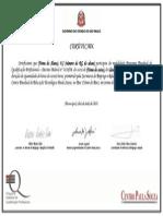 Certificado PEQ - Frente