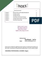 Strategic Management Notes IPCC