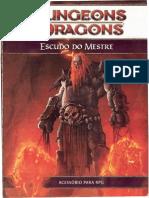 D&D 4.0 - Escudo Do Mestre - Taverna Do Elfo e Do Arcanios