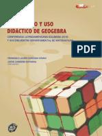 DESARROLLO Y USO DIDÁCTICO DE GEOGEBRA