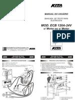 AUTOMANIACO - Bancada Kita - Ecb120a-24v