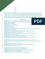 Lista de Normas ASME