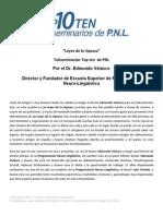 Pnl Teleseminario Leyes de La Riqueza