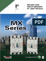 MX Series Circuit Breaker Catalog Mitsubishi