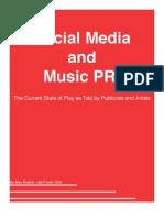 Social Media and Music PR